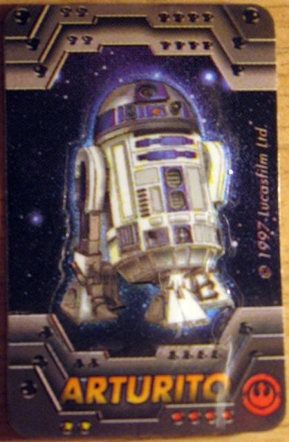 """R2, aquí """"Arturito"""", fue la número 1 de las 30 figuras."""