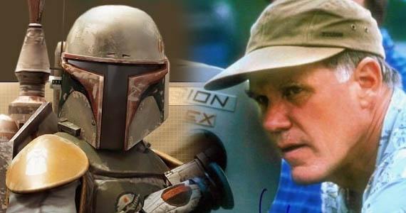 """""""Estoy tratando de conseguir que George haga una película basada en Boba Fett"""", dijo Johnston"""